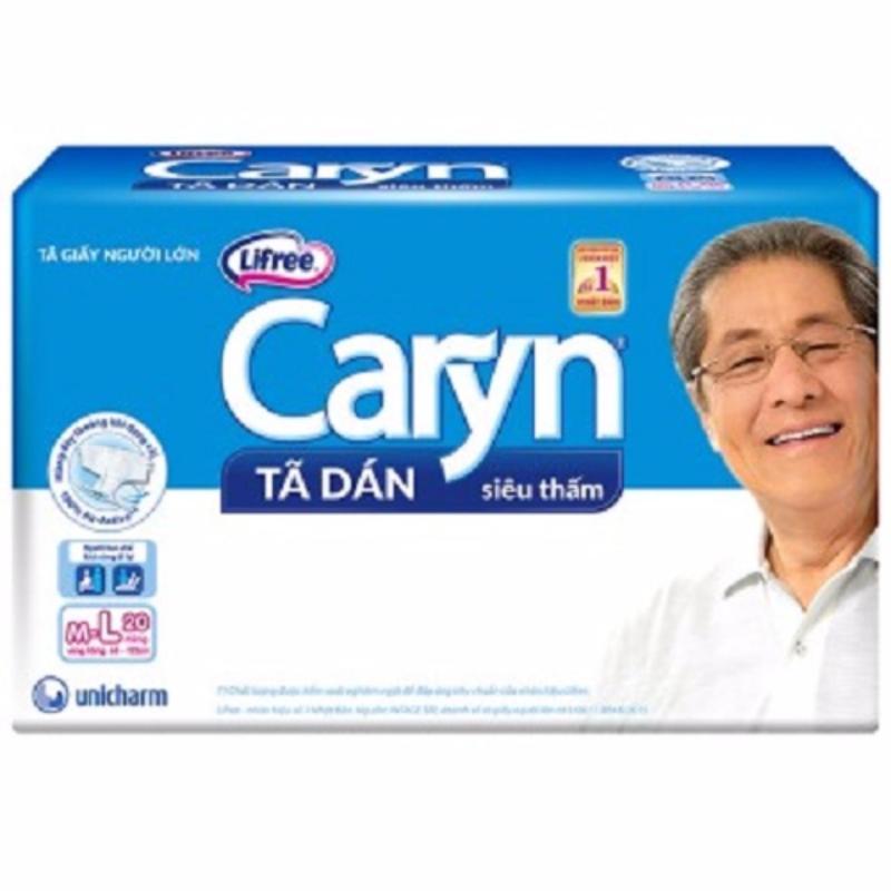 Tã dán Caryn ML20 miếng tốt nhất