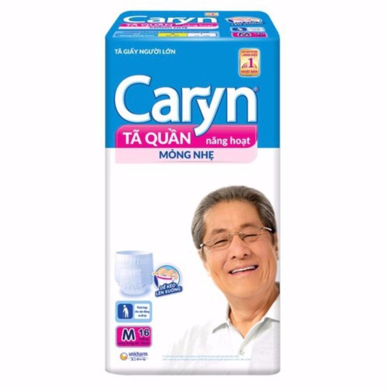 Tã quần Caryn M16 miếng mỏng nhẹ_vòng bụng 65-80cm tốt nhất