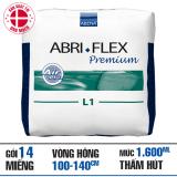 Mua Ta Quần Người Lớn Abri Flex Premium L1 14 Miếng Goi Abena Nguyên
