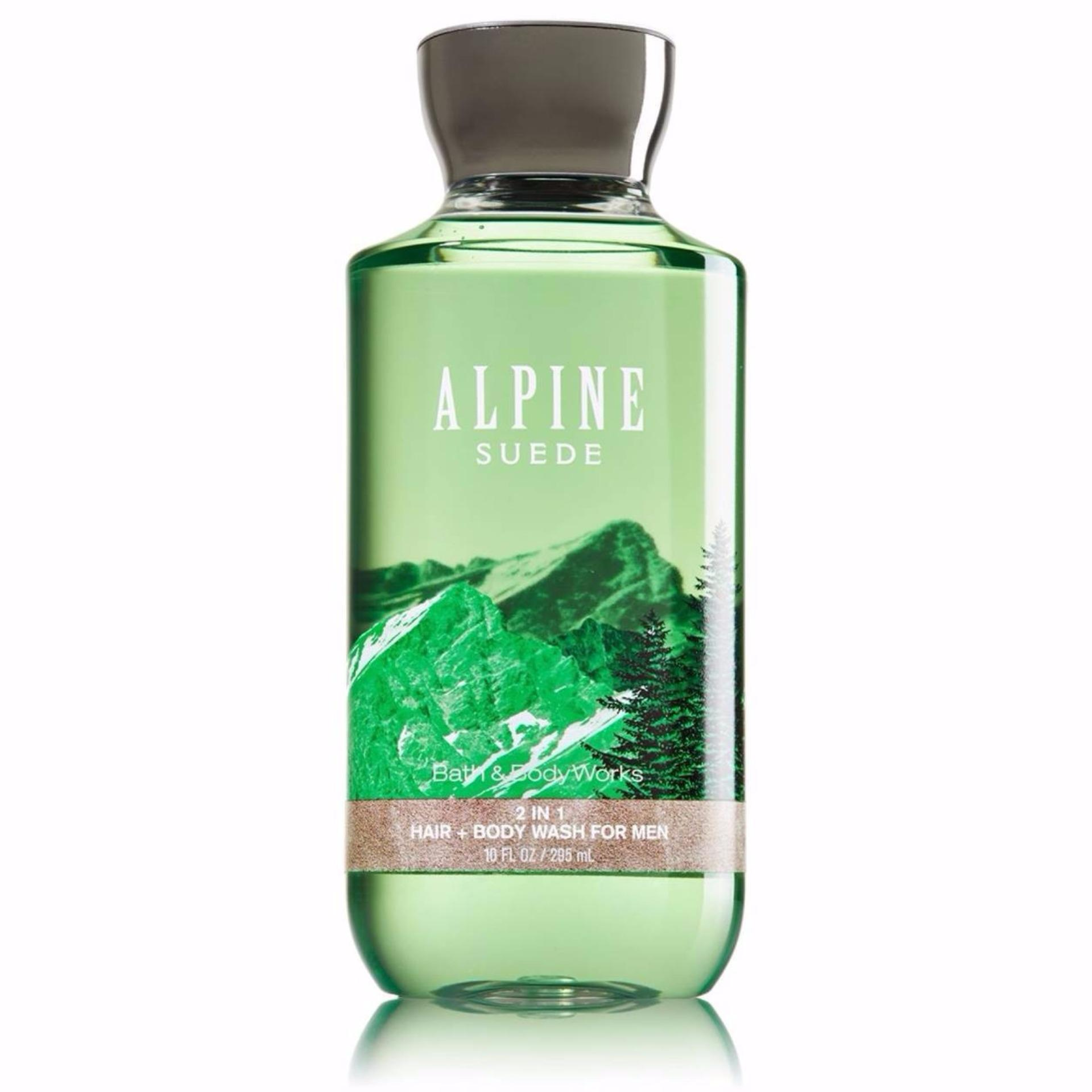 Tắm gội 2in1 cho nam Bath & Body Works for men 295ml #Alpine Suede nhập khẩu