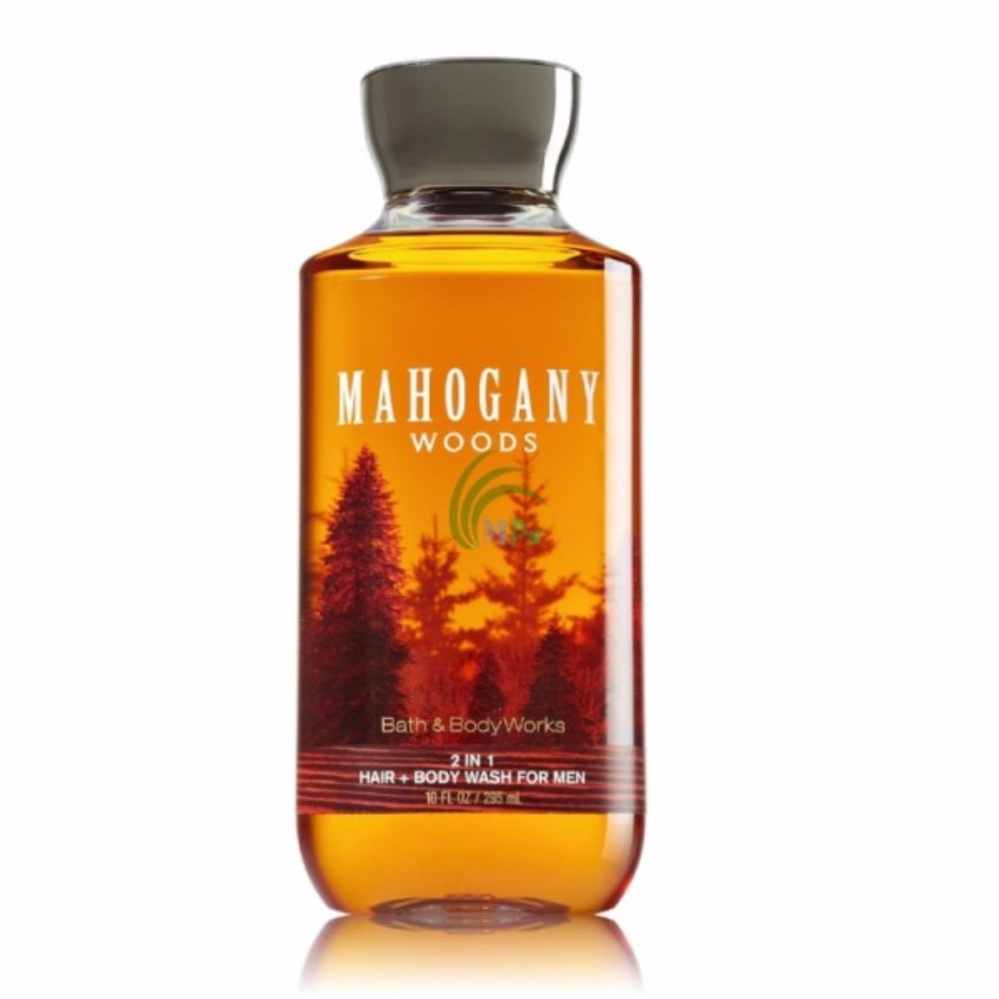 Tắm gội 2in1 cho nam Bath & Body Works for men 295ml #Mahogany Woods