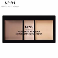 Tạo Khối Nyx Professional Makeup Cream Highlight Contour Palette Chcp01 Light Nguyên