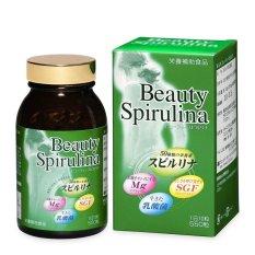 Tảo Nhật Algae Beauty Spirulina 550 viên