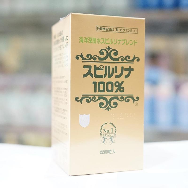 Tảo xoắn Spirulina nội địa Nhật Bản 2200 viên tốt nhất