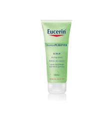 Eucerin Tẩy Tế Bào Chết Ngăn Ngừa Mụn Dermo Purifier Scrub 100ml