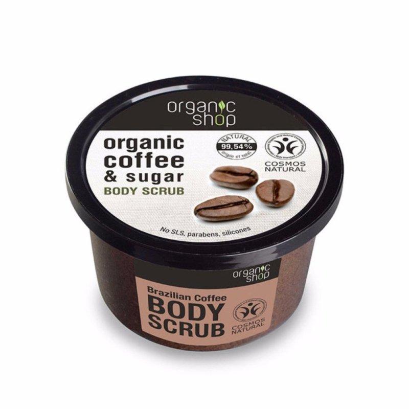 Tẩy Tế Bào Chết Toàn Thân Organic Shop Organic Coffee & Sugar Body Scrub 250ml nhập khẩu