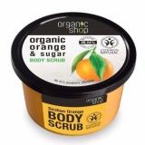 Cửa Hàng Tẩy Tế Bao Chết Toan Than Organic Shop Organic Orange Sugar Body Scrub 250Ml Organic Shop Trong Hồ Chí Minh