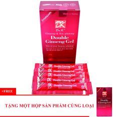 Thạch Sâm cải thiện sinh lí nam DOCTOR K Double Ginseng Gel hộp 10 thanh + Tặng 1 sản phẩm cùng loại