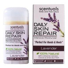Thanh làm mềm da tay và trị nứt gót chân oải hương dịu nhẹ - Calming Lavender Scentuals body care from nature DSR-CL55G 55g,