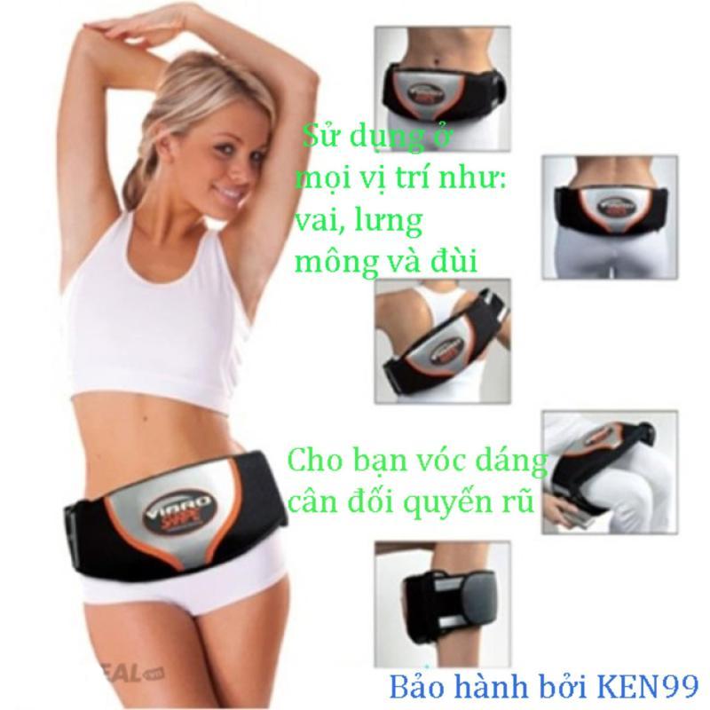 Thể Dục Giảm Mỡ Bụng, Đai Massage Bụng Vibro Shape - Đai Nóng Giảm Béo Cao Cấp - Bh Uy Tín Bởi Ken99 Mẫu 504