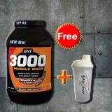 Giá Bán Thực Phẩm Bổ Sung 3000 Muscle Mass Protein 4 5Kg Tặng Binh Lắc Shaker Trắng Trực Tuyến Hồ Chí Minh