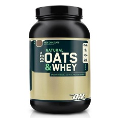 Thực Phẩm Bổ Sung Optimum Nutrition Natural 100 Oats And Whey Milk Chocolate 3 Lbs Nguyên