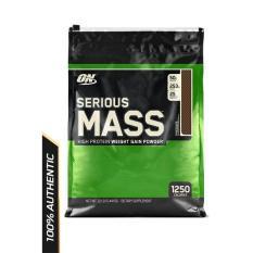 Hình ảnh Thực phẩm bổ sung Optimum Nutrition Serious Mass Chocolate 12 lbs