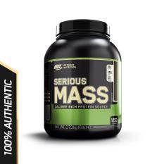 Hình ảnh Thực phẩm bổ sung Optimum Nutrition Serious Mass Chocolate 6 lbs