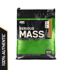 Thực phẩm bổ sung Optimum Nutrition Serious Mass Vanilla 12 lbs nhập khẩu