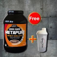 Giá Bán Isolate Whey Zero Carb Metapure Protein 2Kg Tặng Binh Lắc Shaker Trắng Trong Hồ Chí Minh
