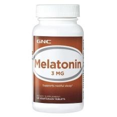 Chiết Khấu Thực Phẩm Chức Năng Gnc Intl Gnc Melatonin 3 Mg 120 Vien Gnc