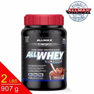 [THỰC PHẨM DINH DƯỠNG THỂ THAO] Whey Protein Tăng Cơ ALLMAX ALLWHEY CLASSIC CHOCOLATE 2 LBS (907 g) thumbnail
