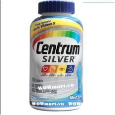 Bán Thuốc Bổ Danh Cho Nam Giới Tren 50 Tuổi Centrum® Silver® Men 50 250 Vien Người Bán Sỉ