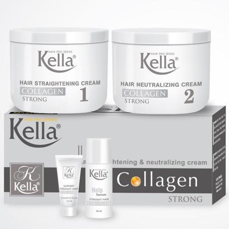 Thuốc duỗi tóc Kella Collagen nhập khẩu