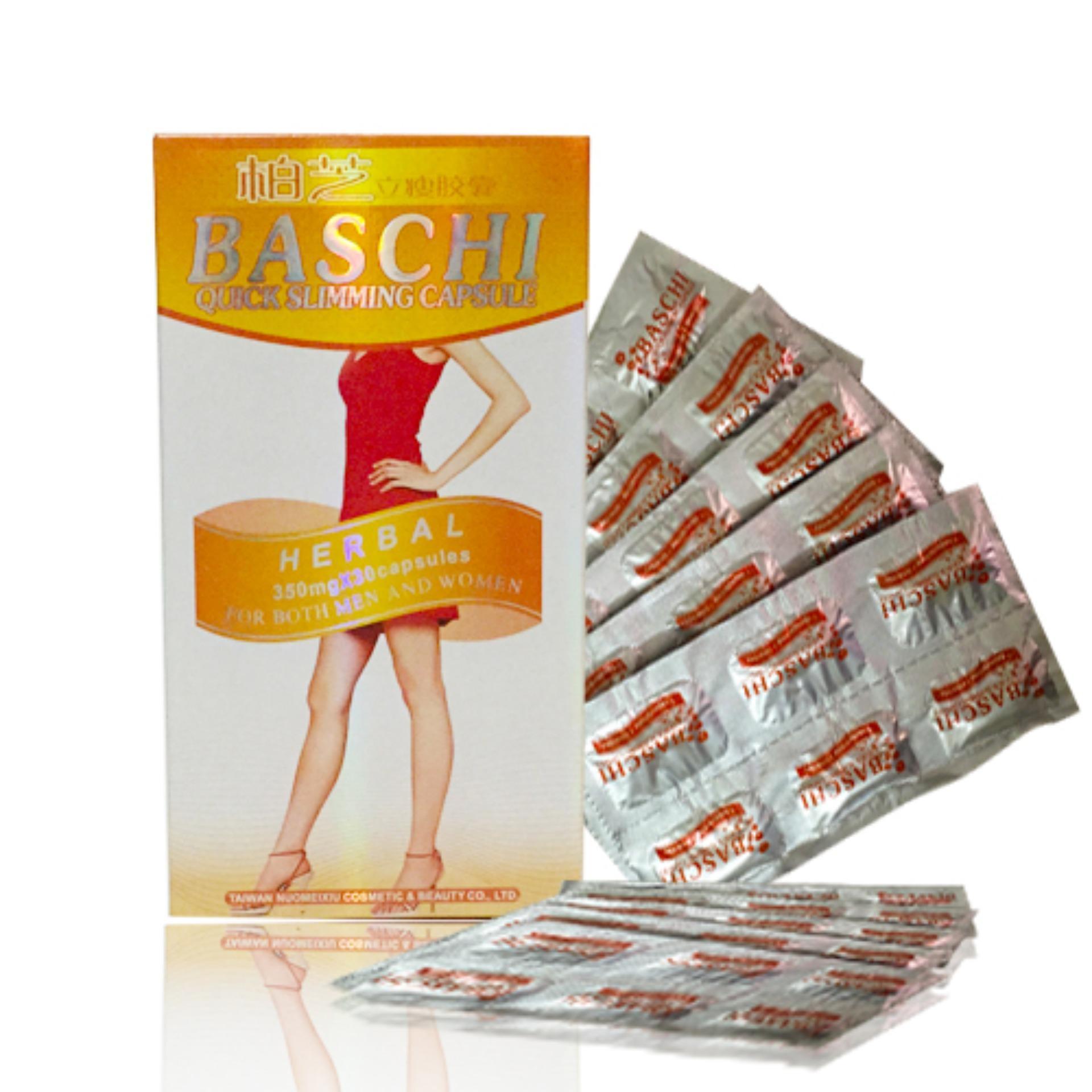 Thuốc giảm cân Baschi cam siêu giảm cân an toàn (30 viên)