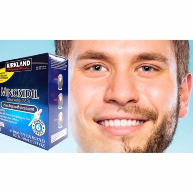 Dung dịch mọc râu Kirkland Minoxidil 5% dạng lỏng (60ml) giá rẻ