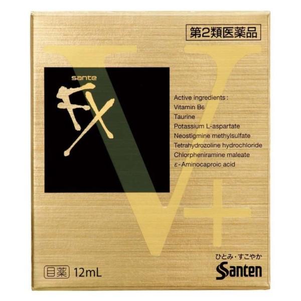 Dung Dịch Nhỏ Mắt Sante FX V+ 12ml Vàng Nhật Bản
