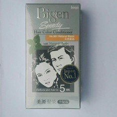 Thuốc Nhuộm Bigen Natural Black Đen #881 – Japan Hàng chính hãng