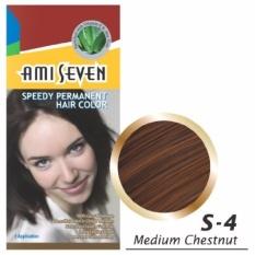Thuốc nhuộm tóc Ami Seven S4 (Nâu hạt dẻ)
