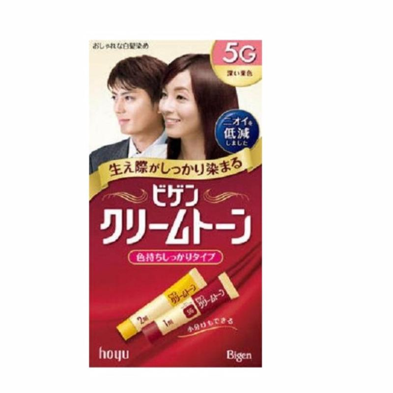 Thuốc Nhuộm Tóc Nhật Bản Bigen Hoyu 5g  (Đen Ngả Nâu) cao cấp