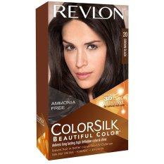Cửa Hàng Thuốc Nhuộm Toc Revlon Colorsilk 20 Brown Black Trong Vietnam