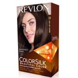 Chiết Khấu Thuốc Nhuộm Toc Revlon Colorsilk 33 Dark Soft Brown Có Thương Hiệu