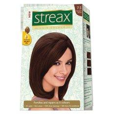 Hình ảnh Thuốc nhuộm tóc Streax màu Nâu đậm - Nhập khẩu Ấn Độ