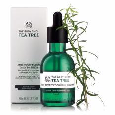 Tinh chất bảo vệ da THE BODY SHOP Tea Tree Anti-imperfection Daily Solution 50ml