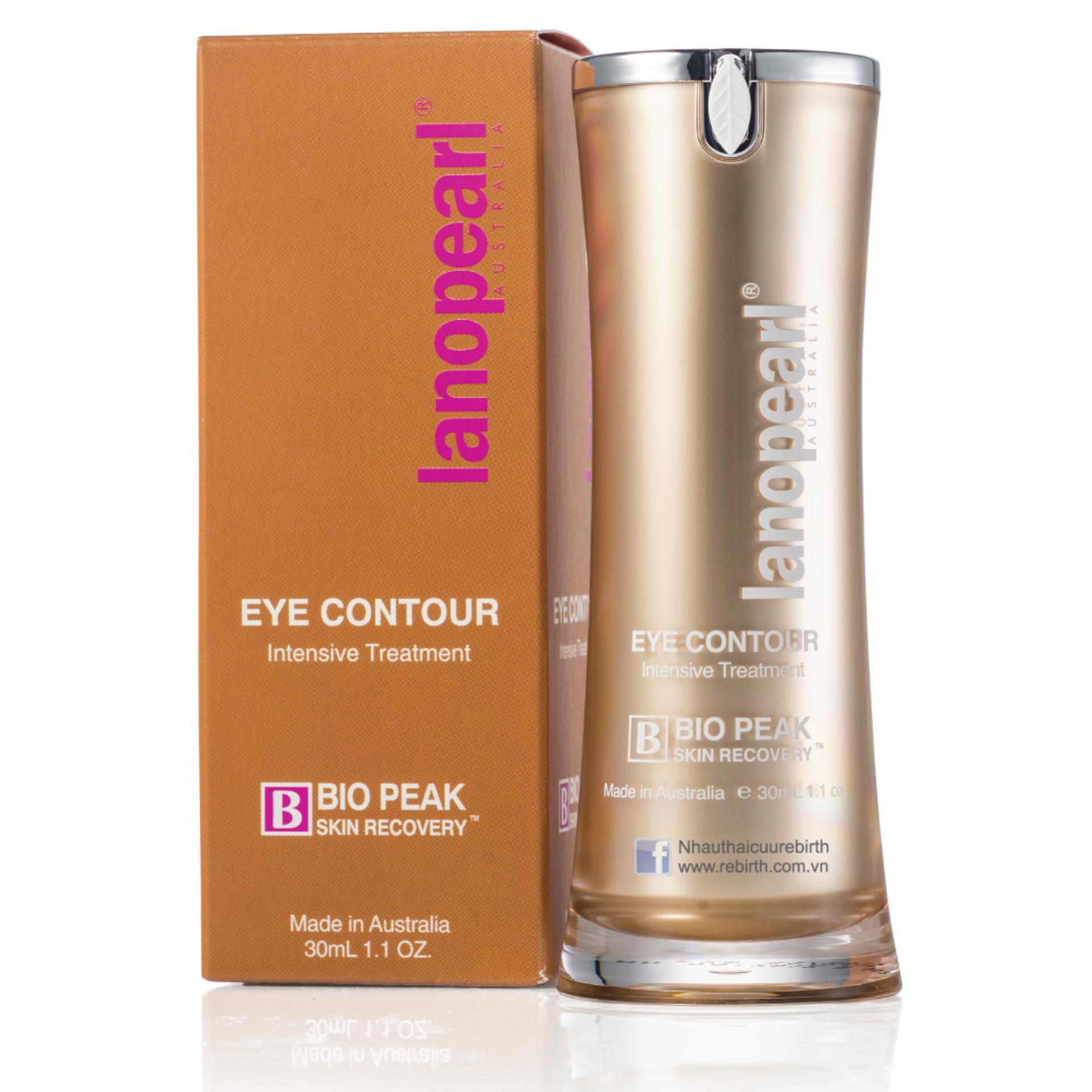 Tinh Chất Chống Nhăn Và Làm Mờ Quầng Thâm Quanh Mắt Lanopearl Eye Contour Intensive Treatment 30Ml