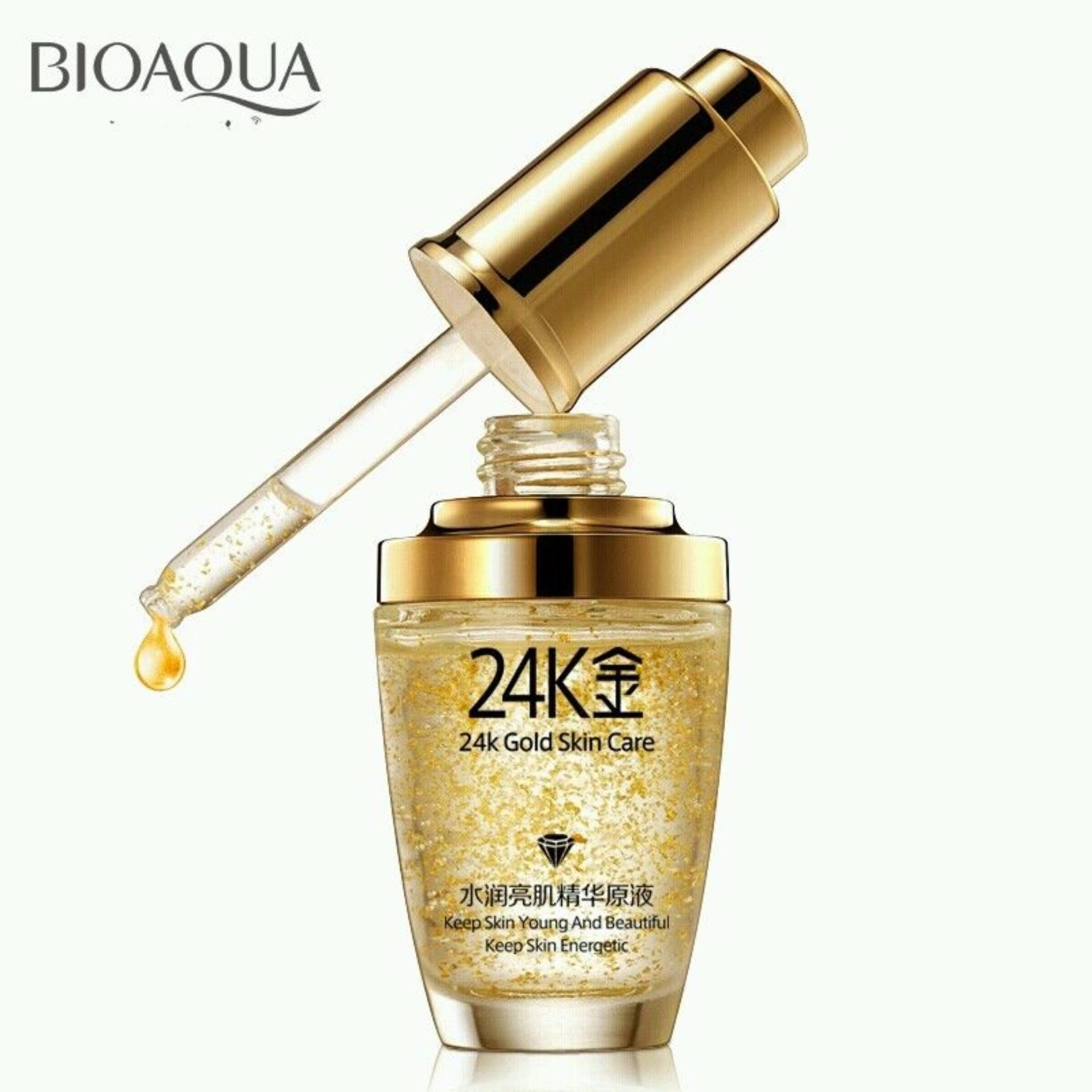 Tinh Chất Dưỡng Da Chuyên Sâu Bioaqua 24K Skin Care