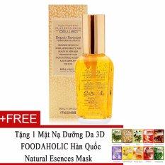 Cửa Hàng Tinh Chất Dưỡng Da Phục Hồi Beauskin Placenta Gold Repair Essence 50Ml Tặng 1 Mặt Nạ Dưỡng Da 3D Foodaholic Han Quốc Natural Esences Mask Trong Hồ Chí Minh
