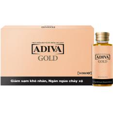 Tinh Chất Lam Đẹp Adiva Collagen Gold 14 Chai X 30Ml Nguyên