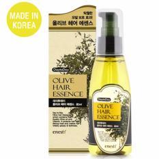 Ôn Tập Tốt Nhất Tinh Chất Phục Hồi Toc Hư Tổn Giảm Xơ Rối Olive Hair Essence Cao Cấp Han Quốc 80Ml Hang Chinh Hang
