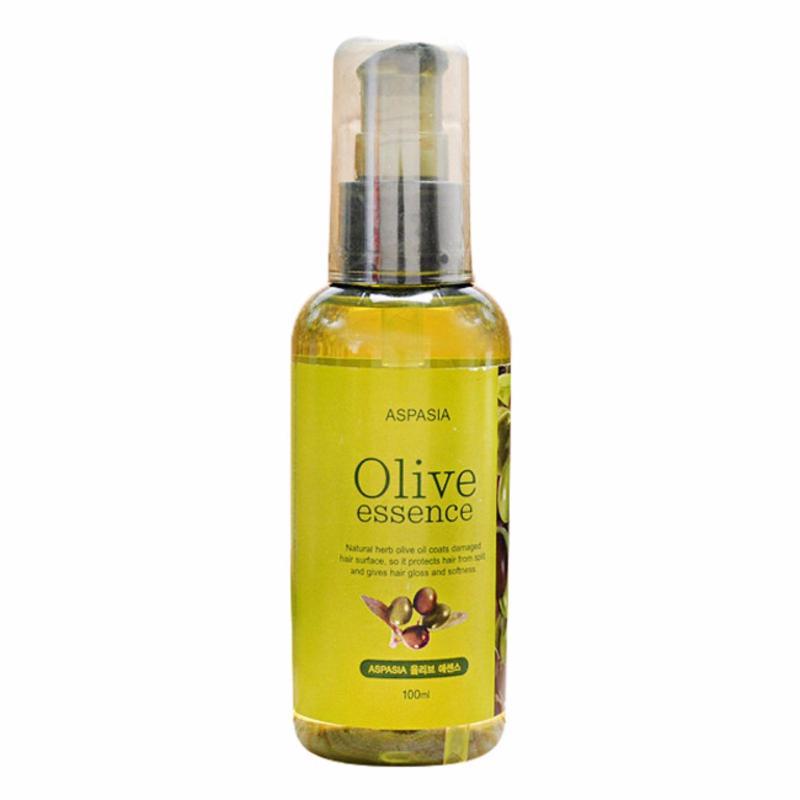 Tinh Chất Phục Hồi Tóc Từ Olive Aspasia Oilve Essence 100ml nhập khẩu