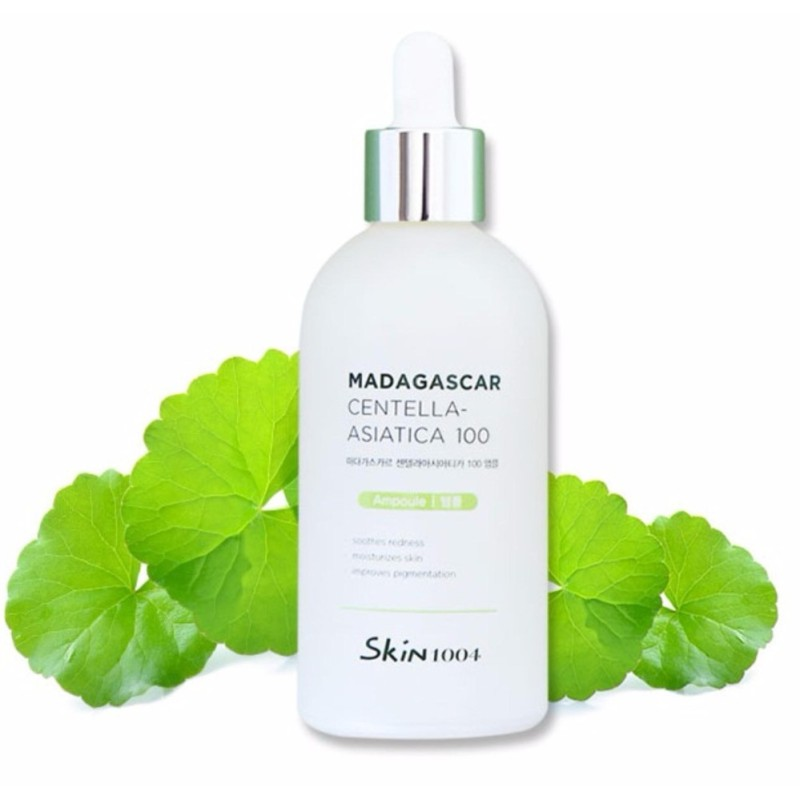 Tinh Chất Rau Má Trị Mụn, Phục Hồi Da Skin1004 Madagascar Centella Asiatica 100 Ampoule 100ml