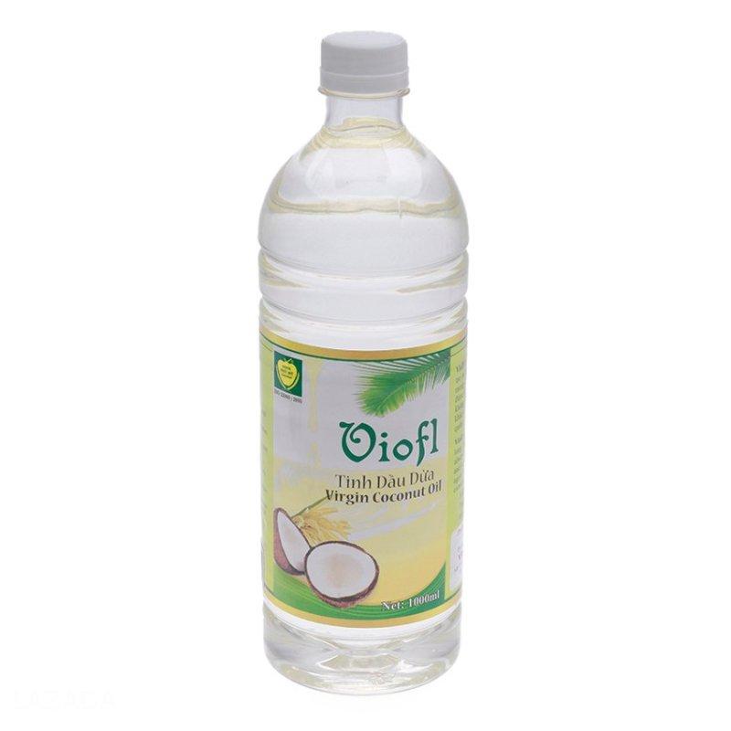 [MUA 1 TẶNG 2] MUA 1 Tinh dầu dừa hữu cơ ép lạnh VIOFL (chai 1000ml) TẶNG 2 Tinh dầu dừa hữu cơ ép lạnh VIOFL chai 50ml