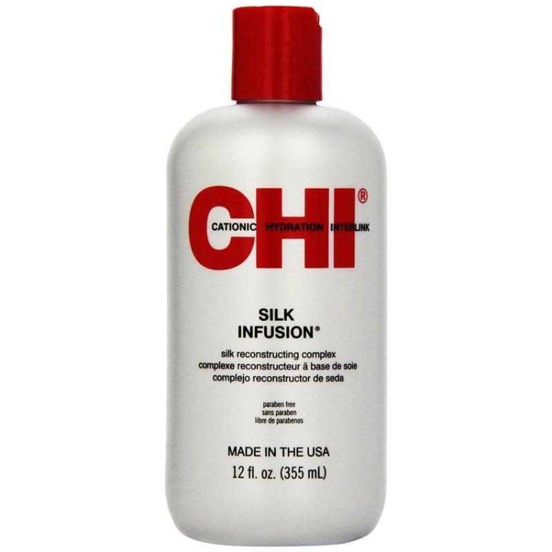 Tinh dầu dưỡng bóng tóc CHI Silk Infusion 355ml