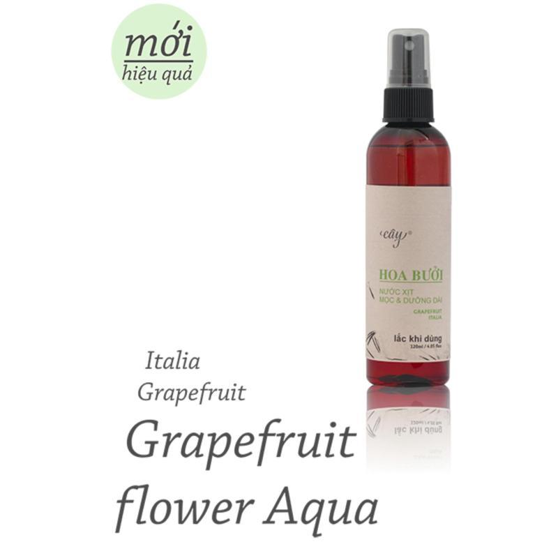 Tinh dầu Hoa Bưởi dạng xịt giúp tóc mọc dài dày 120ml - Tinh Dầu Cây Aromatherapy nhập khẩu