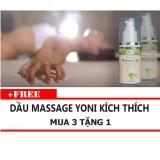 Giá Bán Tinh Dầu Massage Yoni Kich Thich Oleo 100Ml Mua 3 Tặng 1 Nguyên Oleo
