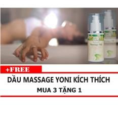Tinh dầu Massage Yoni Kích Thích OLEO 100ml Mua 3 Tặng 1