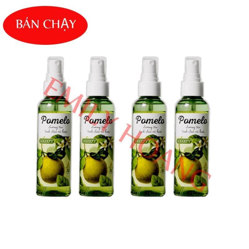 Bộ 4 chai tinh dưỡng tóc tinh dầu bưởi pomelo 130ml nhập khẩu