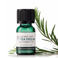 Tinh dầu trị mụn THE BODY SHOP Tea Tree Oil 10ml nhập khẩu