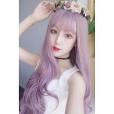 Tóc giả Hàn Quốc màu Tím HOT - TG74