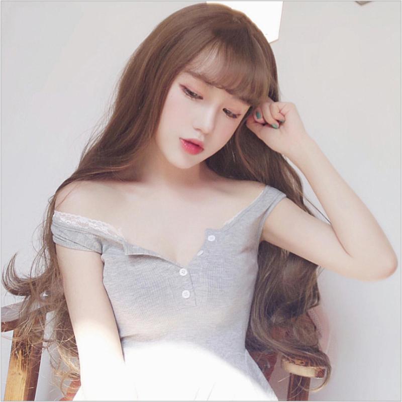 Tóc giả nữ Hàn Quốc cao cấp có da đầu + tặng kèm Lưới trùm tóc -  TG5765 ( MÀU NÂU SÁNG HẠT DẺ) nhập khẩu